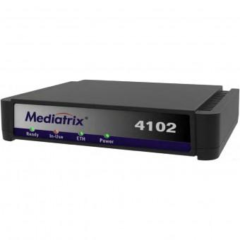 Mediatrix 4102S  SIP / VoIP Gateway - Media5 - Siemens Unify - Mitel - Aastra [Refurbished]