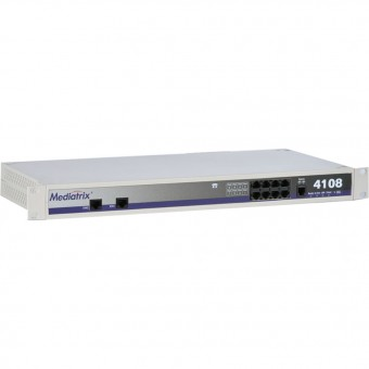 Mediatrix 4108 - SIP / VoIP Gateway - Media5 - Siemens Unify - Mitel - Aastra [Refurbished]