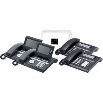 Telekom Octopus F50 (Hybird 120) & 2 x Unify OpenStage 40 & 2 OpenStage 15 SIP Bundle