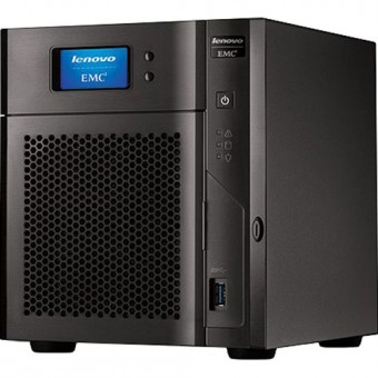 Lenovo EMC PX4-400D (NAS/4-Bay)